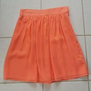Forever 21 chiffon polyester skirt